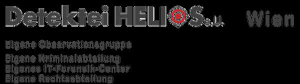 Logo Detektei Helios und Team