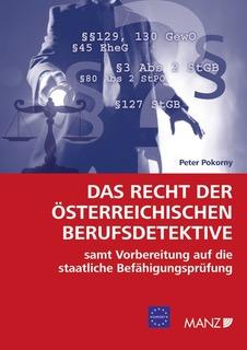 Buchcover - Das Recht der österreichischen Berufsdetektive